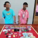 Diduga Terlibat Jaringan Narkoba, 2 Pemuda Digelandang ke Polres