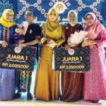 2 Desainer Kota Bima Raih Juara I Lomba Fashion Show Lombok-Sumbawa Tenun Festival