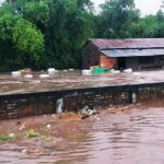 Banjir Bandang di Bolo Terjang Gudang Penggilingan Padi