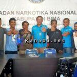 BNN Kabupaten Bima Silahturahmi dengan Media