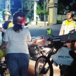 """Penghujung Tahun, Polisi """"Seret"""" Pengguna Knalpot Racing"""