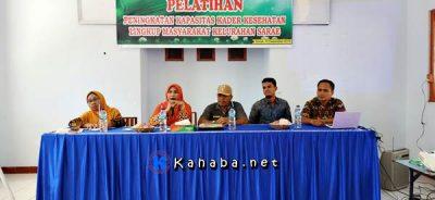 Kegiatan Peningkatan Kapasitas Kader Kesehatan di Kantor Kelurahan Sarae
