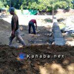 Pekerjaan Tahap II Dana Kelurahan Santi Hampir Selesai