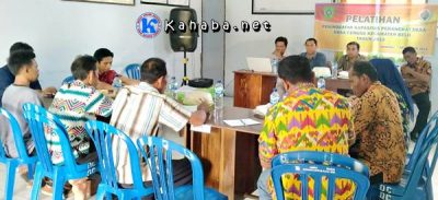 Pemdes Cenggu Gelar Pelatihan Peningkatan Kapasitas Perangkat Desa