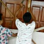 Tuntut Transparansi ADD, Pemuda Talabiu Segel Kantor Desa