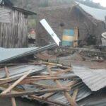 Diterpan Hujan dan Angin Kencang, Rumah Warga Keli Rusak