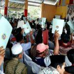 BPN dan Bupati Bima Serahkan 1.000 Sertifikat Tanah