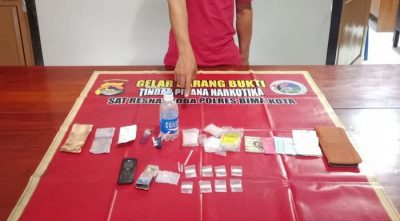 Sat Narkoba Ungkap Peredaran Narkoba di Rabadompu