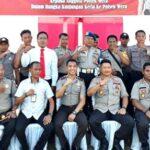 Kapolres Bima Kota Kunker ke Polsek Wera dan Ambalawi