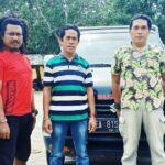 Sat Brimob Amankan Mobil Hasil Curian di Bendungan Desa Ncera