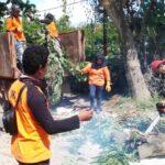 TSBK Lewirato dan Masyarakat Gotong Royong Bersihkan Lingkungan