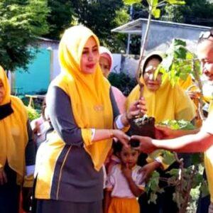 Hj Ellya Ajak Masyarakat Jaga Kelestarian Alam