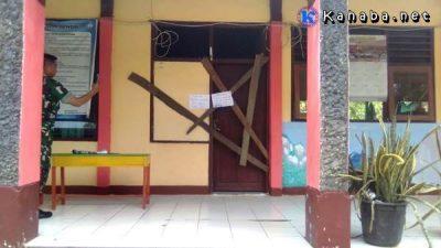 Tolak Kepsek Baru, Ruangan Guru SDN Renda Disegel Pemuda