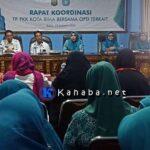 Tingkatkan Koordinasi Program Kerja, TP PKK Rakor Bersama KPD