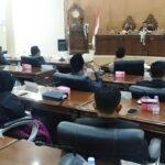 Komisi DPRD Kota Bima Sampaikan Hasil Monev pada Paripurna