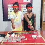 Pengedar Narkoba di Langgudu Dibekuk Bersama BB 13 Poket Ganja