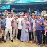 H Syafru Blusukan di Desa Risa, Warga Deklarasi Tim Pemenangan