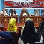 Wawali Bima Buka Kegiatan Rapat Pleno TPAKD