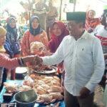 Terus Raih Simpati Warga, Syafa'ad Blusukan di Pasar Tente