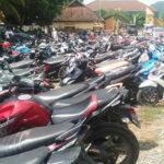 Sepekan, Polres Bima Kota Tilang 420 Kendaraan dan Amankan Puluhan Knalpot Racing