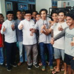 Jemput Perubahan, Pemuda Desa Runggu Siap Menangkan Pasangan Syafa'ad