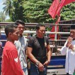 Aliansi Rakyat Tani Lambu Turun ke Jalan, Protes Pupuk Langka