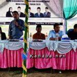 Di Depan Para Wakil Rakyat, Warga Dara Keluhkan Sulitnya Dapat Air Bersih