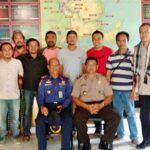 Pererat Kemitraan, Wartawan dan Anggota Damkar Silaturahmi Dengan Kapolsek Rastim