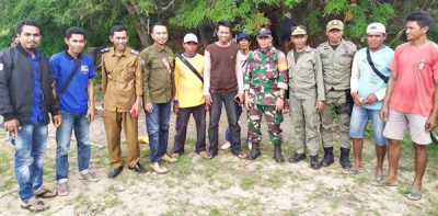 BKPH MDM Bersama Muspika Lambu Patroli Kosongkan Areal Perambahan