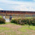 Kapal Tongkang Virgo Sejati 266 Terdampar di Pantai Desa Sai