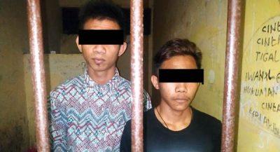 Curi Kambing Milik Brimob, 2 Pemuda ini Diseret ke Polsek Ambalawi