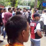 Aksi Pemuda dan Mahasiswa Belo Berakhir Ricuh