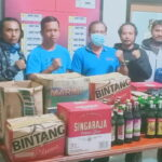 Operasi Pekat Gatarin, Polres Bima Kota Amankan Miras