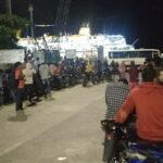 Kapal Angkut Seorang Suspect Covid-19 Tiba di Pelabuhan Bima, Keluarga Penumpang Was-Was