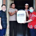 Bantu Pencegahan Pandemi Global, PSMTI Kota Bima Bagikan 100 Wastafel