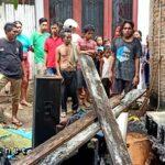 Diduga Arus Pendek, Rumah Warga Santi Terbakar