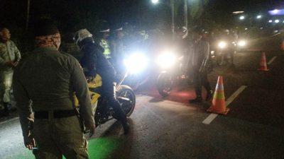 Pemeriksaan Covid-19 di Batas Kota, Tim Banyak Amankan Sajam dan Panah
