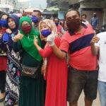 Warga Sape dan Lambu Puji Kepedulian Syafa'ad Karena Berbagi Masker