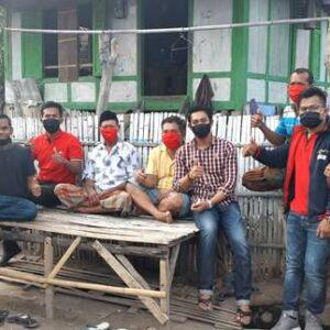 Sisipkan Gaji, Wakil Rakyat Firdaus Kembali Bagikan Masker
