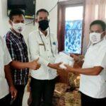 Camat Asakota Bagikan Masker untuk Seluruh Staf dan Pegawai Lurah