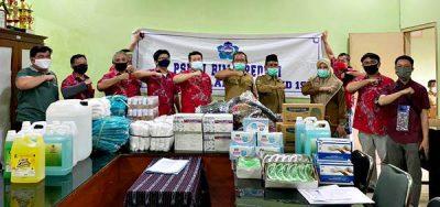 PSMTI Salurkan APD untuk Tim Medis Covid-19 Kota dan Kabupaten Bima