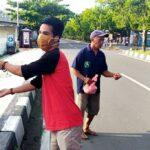 IKA Unhas NTB Kampanye Hidup Sehat dan Bagi-Bagi Sembako