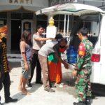 Tim Satgas Kelurahan Santi Sosialisasi Pencegahan Covid-19
