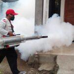 Dikes Mulai Fogging di Kecamatan Asakota