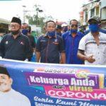 Tim Syafa'ad Bagikan Puluhan Ribu Masker untuk Warga Kabupaten Bima