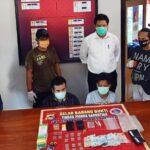 Diduga Pengedar Ganja, 2 Pemuda Ini Dibekuk Sat Narkoba