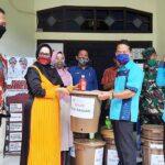 Dispar Kota Bima Serahkan Bantuan untuk Kelurahan Binaan