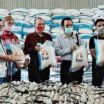 Dinsos Provinsi NTB dan Bulog Bima Pastikan Beras Untuk JPS Gemilang Bagus