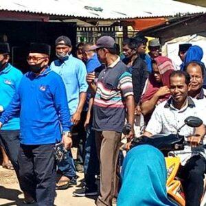 Terus Bergerak untuk Kemanusiaan, Hari ini Syafa'ad Bagi Masker di Langgudu