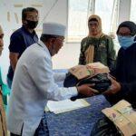 Polda NTB Sosialisasi Pencegahan Covid-19 dan Serahkan Sembako untuk Keluarga Napiter